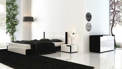 Lits design, lits contemporains, chambre design, table de chevet design